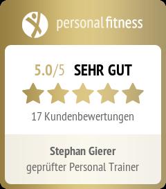 Bewertung Personalfitness Stephan Gierer