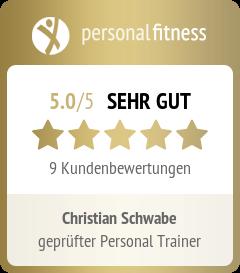Personal Trainer Christian Schwabe Nürnberg personalfitness.de